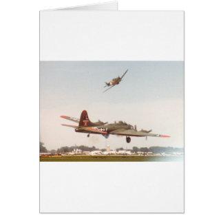 B-17 Bomber Card