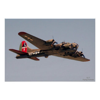 B-17 Flying Fortress Poster