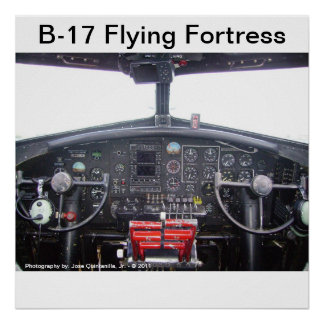 B-17 Flying Fortress - Poster