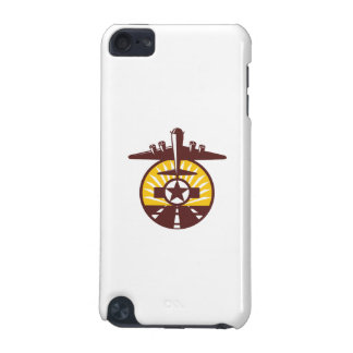 B-17 Heavy Bomber Star Runway Circle Retro iPod Touch 5G Case