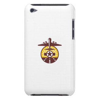 B-17 Heavy Bomber Star Runway Circle Retro iPod Touch Covers
