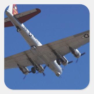 B-17 SQUARE STICKER