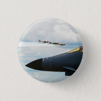 B-1 Bomber and WWII Fighters 1 Inch Round Button