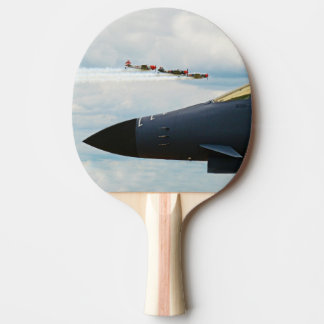 B-1 Bomber and WWII Fighters Ping Pong Paddle