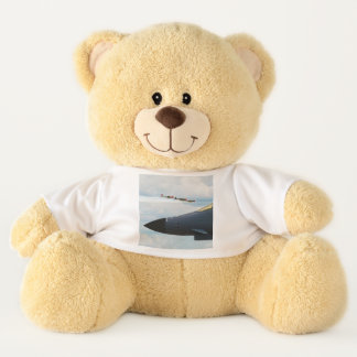 B-1 Bomber and WWII Fighters Teddy Bear