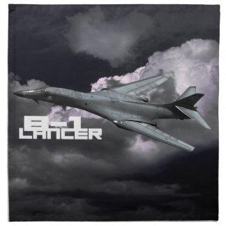 "B-1 Lancer Cloth Napkins (set of 4) dinner 20"" x"