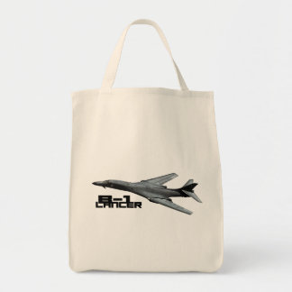 B-1 Lancer Grocery Tote Grocery Tote Bag