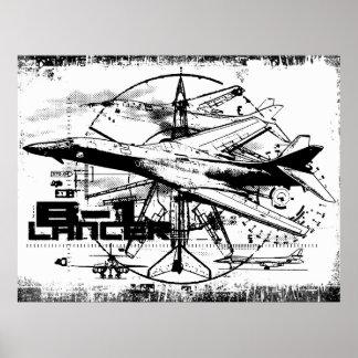 B-1 Lancer Print