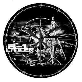 B-1 Lancer Round (Large) Wall Clock