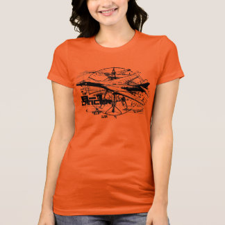 B-1 Lancer Women's American Apparel Fine Jersey T T-Shirt