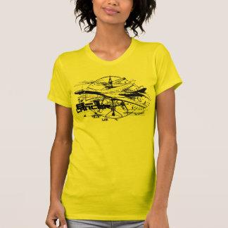 B-1 Lancer Women's American Apparel Fine Jersey T Tee Shirt