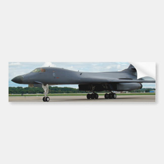 B-1B Lancer Bomber on Ground Bumper Sticker
