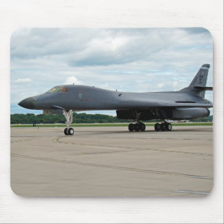 B-1B Lancer Bomber on Ground Mouse Pad