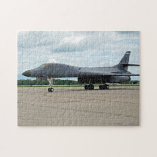 B-1B Lancer Bomber on Ground Puzzles