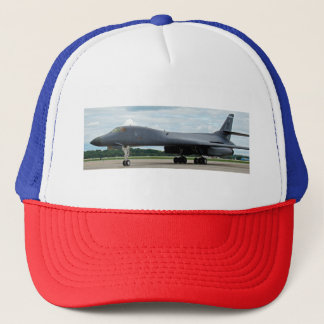 B-1B Lancer Bomber on Ground Trucker Hat