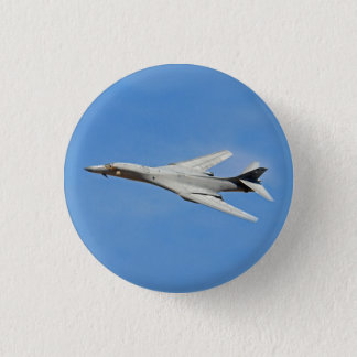 B-1B Lancer Bomber Wings Swept 1 Inch Round Button
