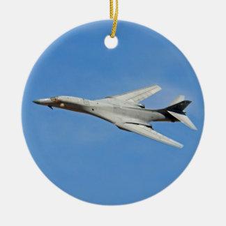 B-1B Lancer Bomber Wings Swept Ceramic Ornament