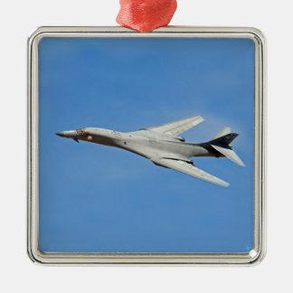 B-1B Lancer Bomber Wings Swept Metal Ornament