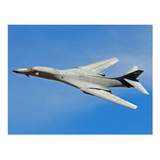 B-1B Lancer Bomber Wings Swept Postcard