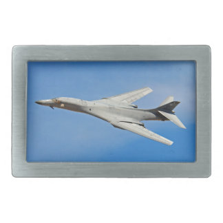 B-1B Lancer Bomber Wings Swept Rectangular Belt Buckle
