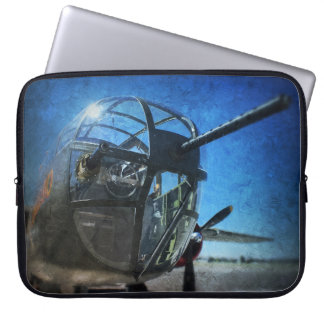 B-25 Bomber Art Laptop Sleeve