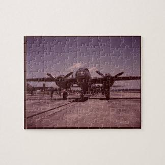 B-25 Bomber Jigsaw Puzzle