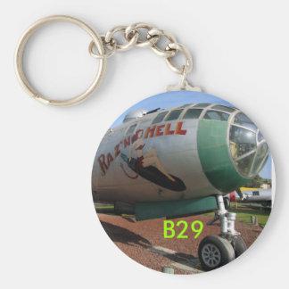 B-29 No.2, B29 Basic Round Button Keychain
