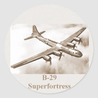 B-29 Superfortress sticker