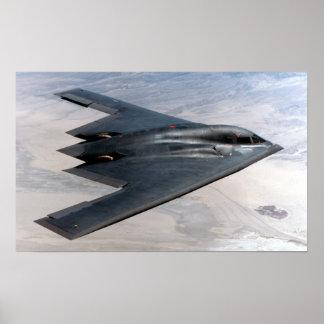 B-2 Spirit bomber Poster