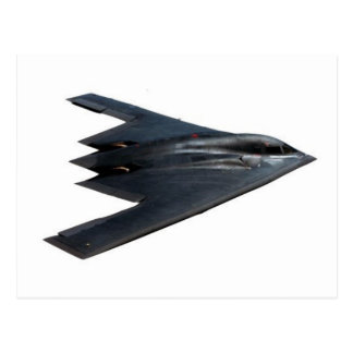B-2 SPIRIT - FLYING WING POSTCARD