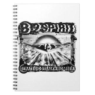 B-2 Spirit Notebook Spiral Photo Notebook