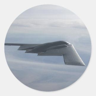 B-2 Spirit - Stealth Bomber Classic Round Sticker