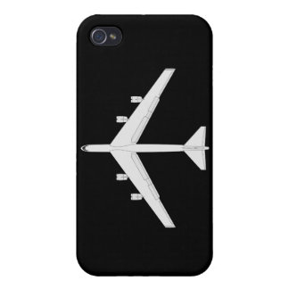 B-52 Bomber - Top View Cases For iPhone 4