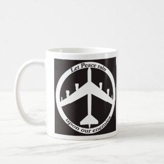 B-52 Peace Coffee Mug