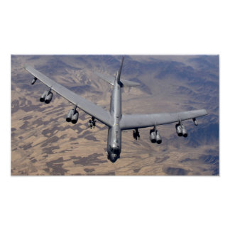 B-52H Stratofortress Poster