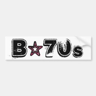 B-70s Official Sticker