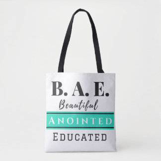 B.A.E. Bag Beautiful Anointed Educated Turquoise