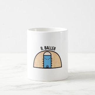 B. Baller Classic White Coffee Mug