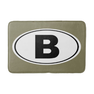 B Bellingham Washington Bath Mat