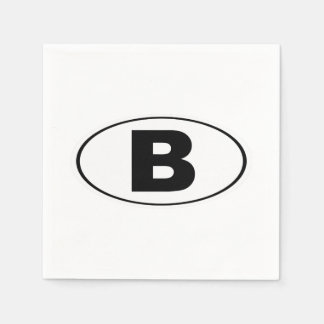 B Bellingham Washington Disposable Napkin