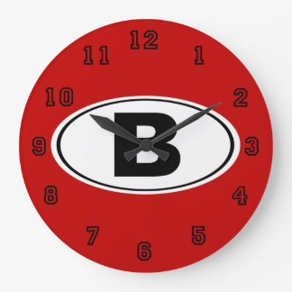 B Bellingham Washington Large Clock