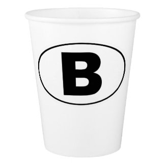 B Bellingham Washington Paper Cup
