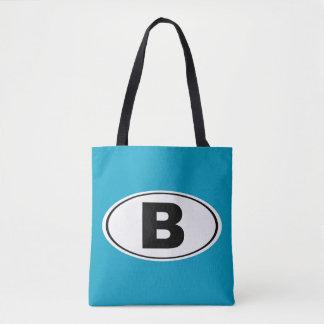 B Bellingham Washington Tote Bag