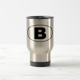 B Bellingham Washington Travel Mug