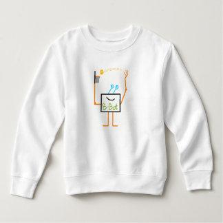 B bot sweatshirt