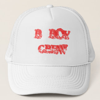 B_BOY CREW TRUCKER HAT