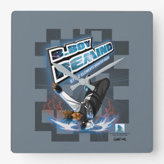 B. Boy Remind Wall Clock
