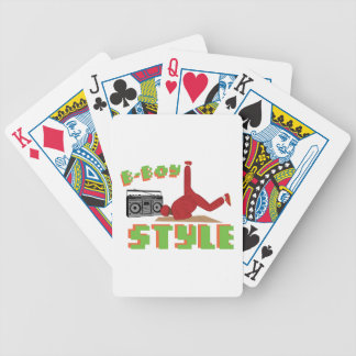 B-Boy Style Bicycle Playing Cards