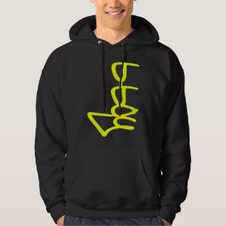 b boy, style GBK YELLOW SIDE Hoodie