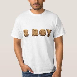 B Boy T shirt maggot or character cookies